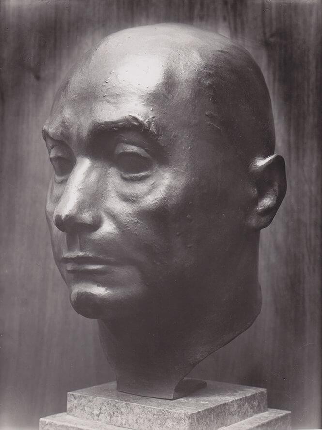 Bildnis Peter Kloeckner • Bronze • 40,5cm • 1949
