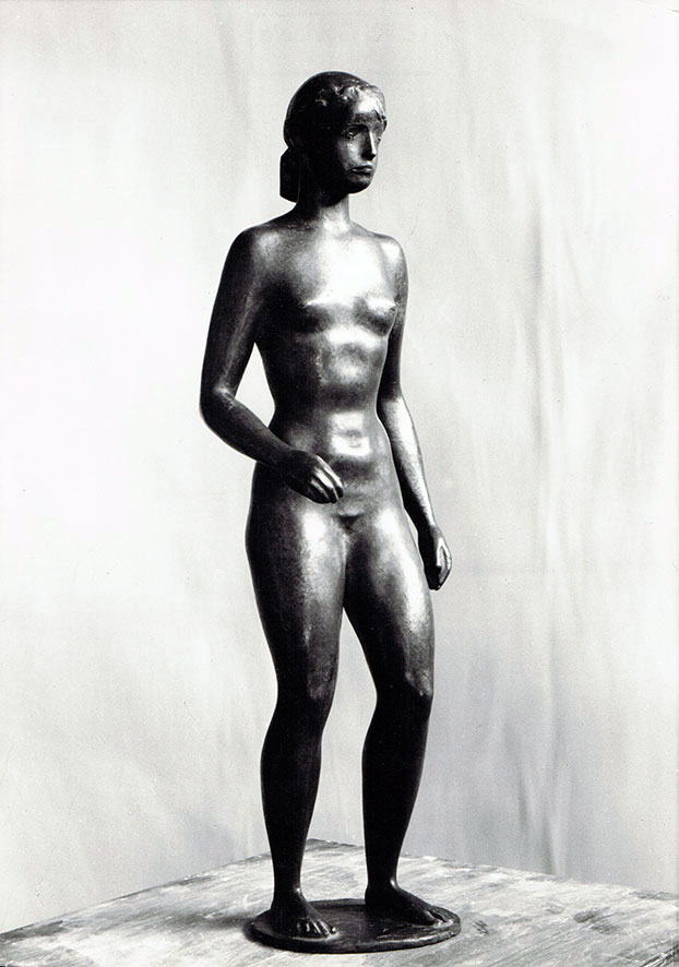 Fünfkämpferin • Bronze • 35cm • 1948