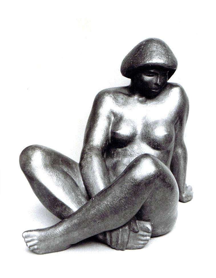 Gäa • Bronze • ein Drittel Lebensgröße • 1936