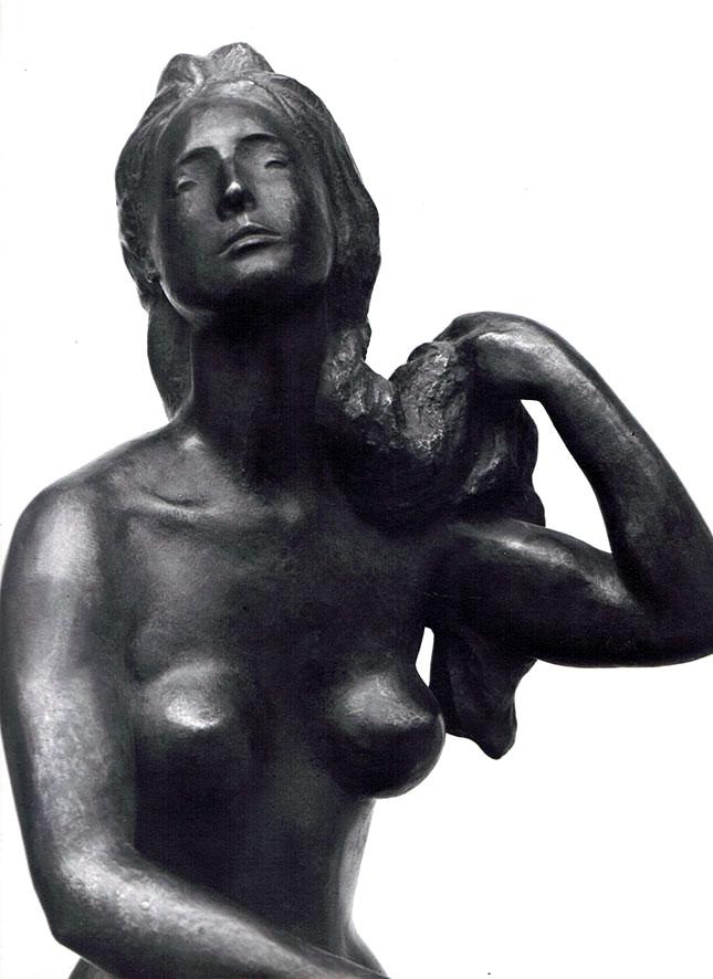Haarflechterin II • Zink • 55cm • 1943