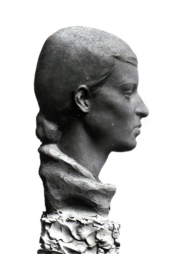 Bildnis Dr. Heidi Hamann • Ton • lebensgroß • 1935