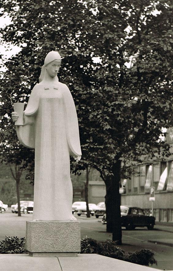 Heilige-Barbara • Grüntenstein • 330cm • 1959