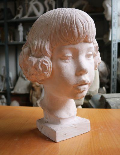 Kinderkopf Alexander • 34,5cm • um 1977