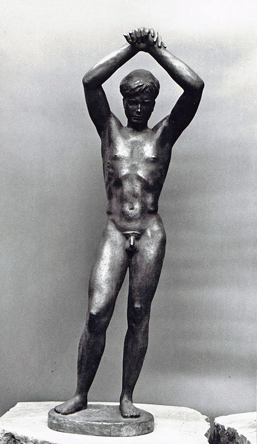 Jüngling • Bronze • 120 cm • 1949