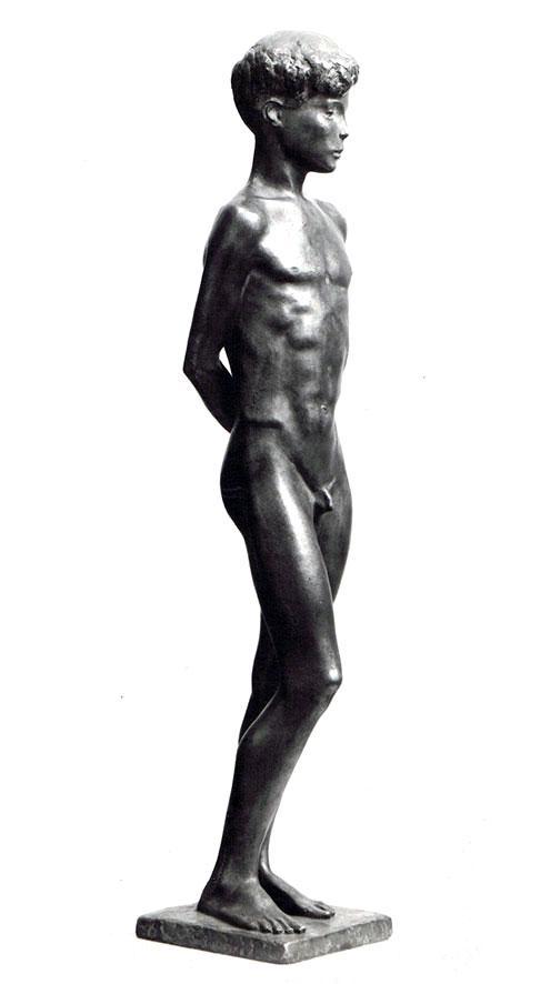 Knabe • Bronze • 60 cm • 1937