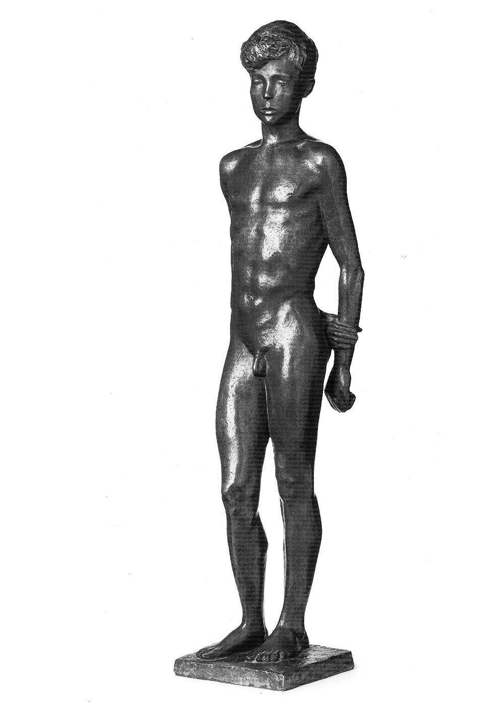 Stehender Knabe I • Bronze • 61 cm • 1936