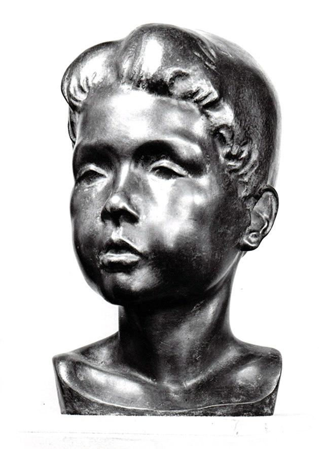 Knabenkopf • Bronze • 26 cm • 1934