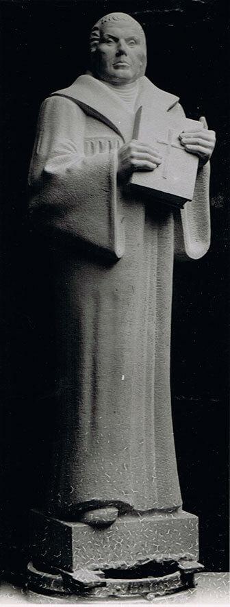 Luther • weißer Mainsandstein • 230cm • 1936