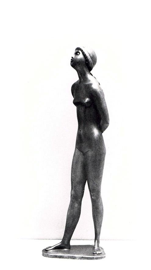 Mädchenakt • Bronze • 50 cm • 1950