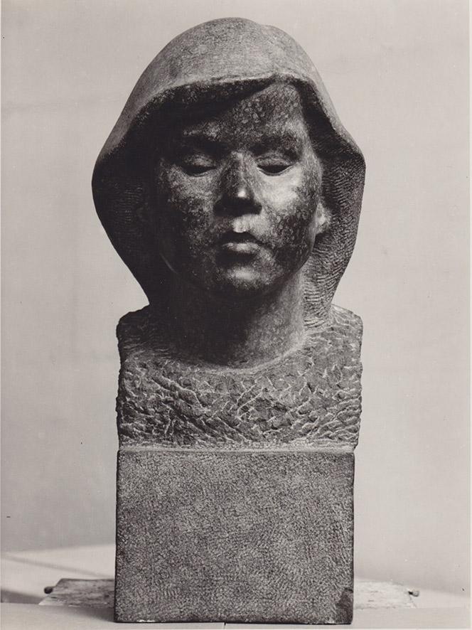 Mädchenbüste Diabas • lebensgroß • 1934