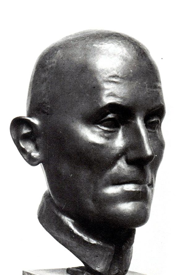 Bildnis Robert Beiholt • Bronze • lebensgroß •1936