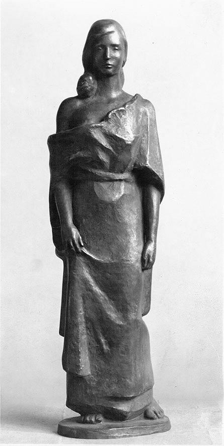 Schreitende • 42 cm • Zink • 1939