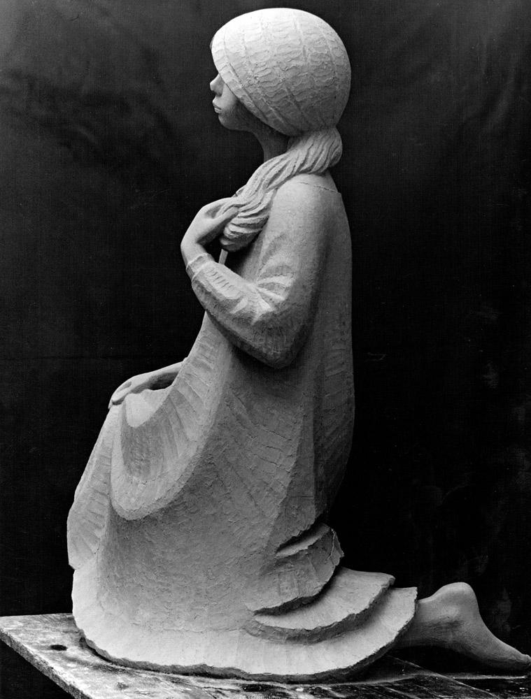 Simone • 105 cm • Gips • 1968