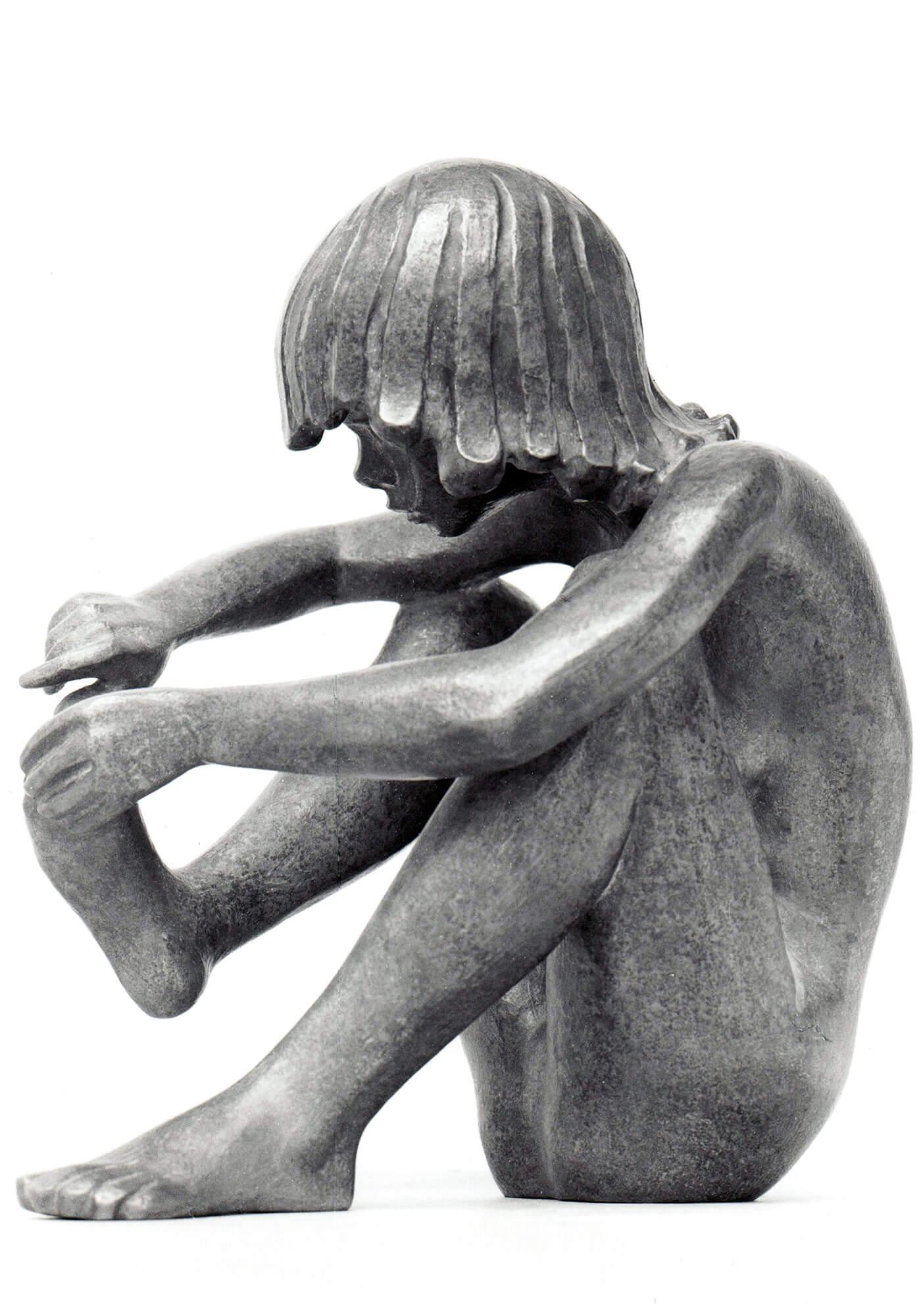 Pedikur • Bronze • 31cm • 1961