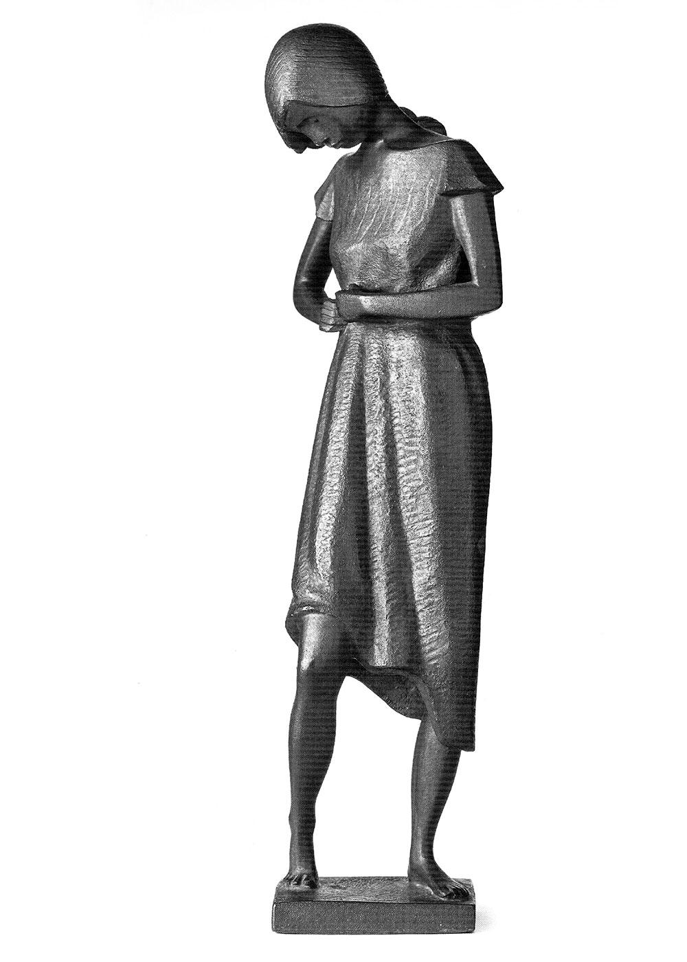 Gürtelbinderin • 33cm • Bronze • 1966