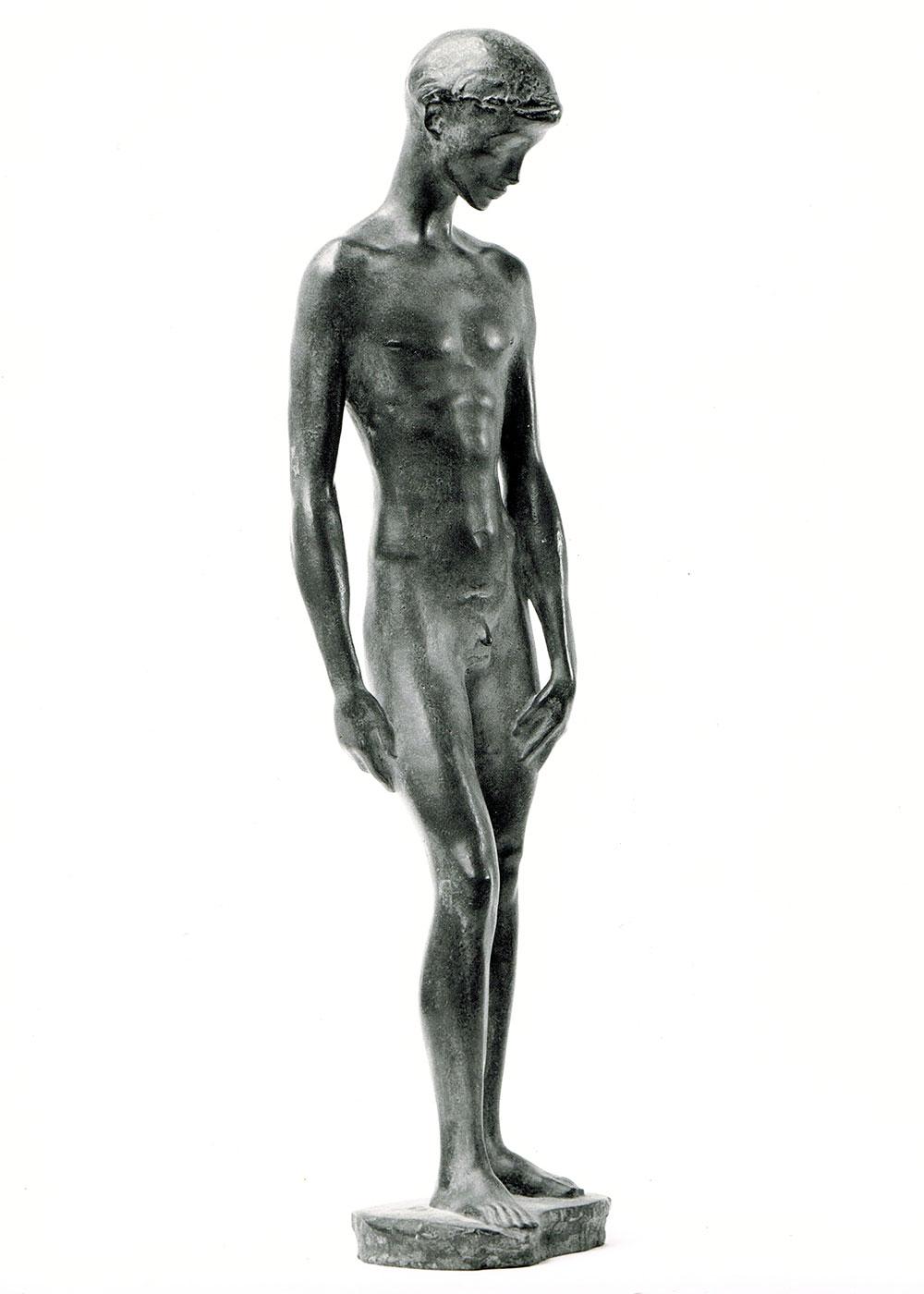 Herabblickender • Bronze • 73 cm • 1943
