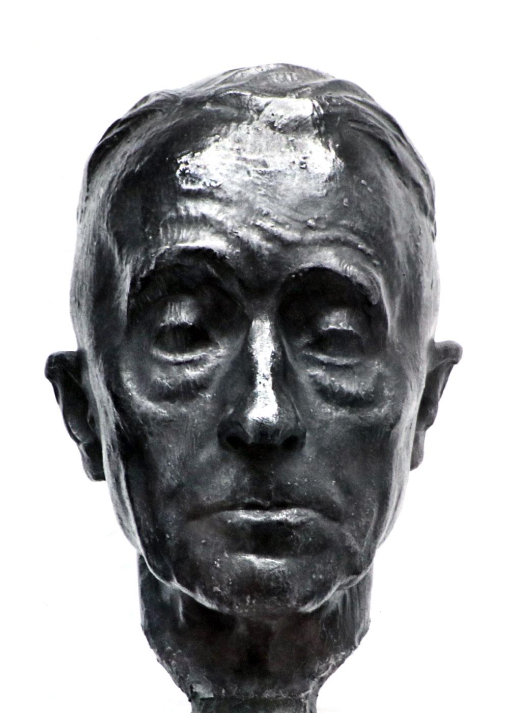 Bildnis Richard Scheibe • Bronze • 35cm • 1957