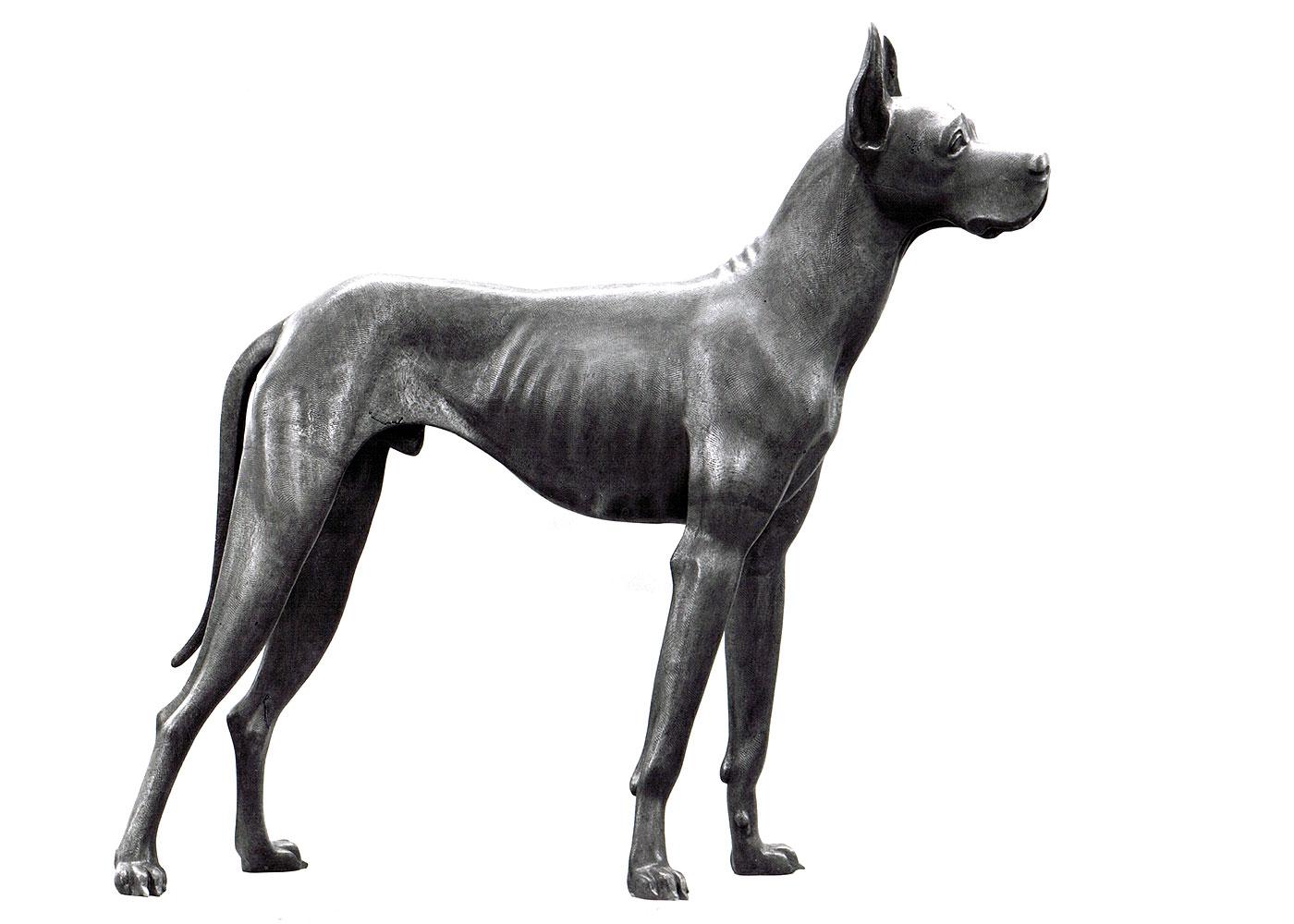 Deutsche Dogge • Bronze • 122cm • 1969