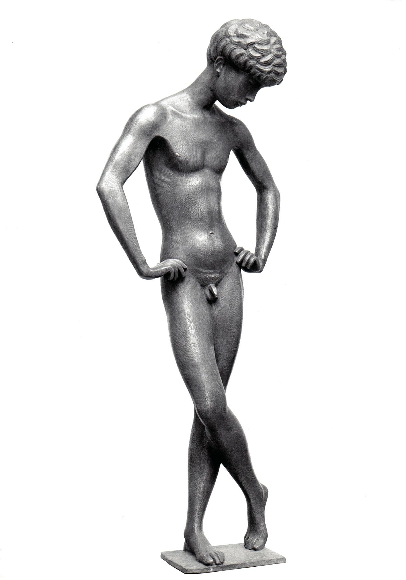 Narziss • Bronze • 94cm • 1970