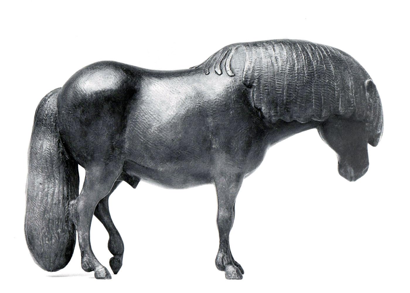 Ponny Hengst • Bronze • 26cm • 1970