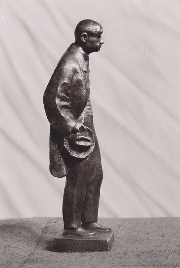 Statuette Karl Reinhardt • Bronze • 25cm • 1958