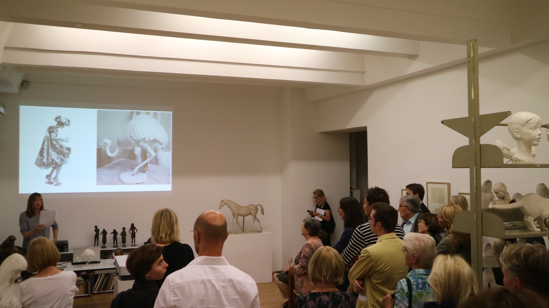 Eröffnungsabend Ausstellung Agricola in der Galerie Hanna Bekker vom Rath 2017