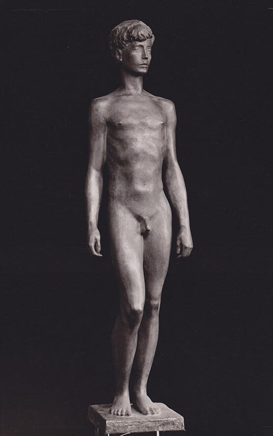 Stehender Knabe • Bronze • 139cm • 1939