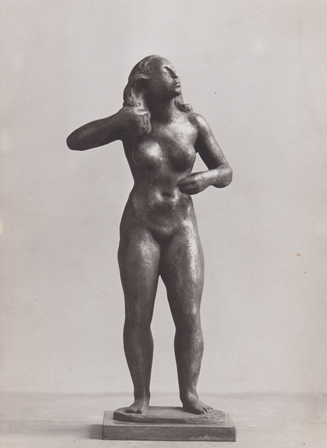 Agricola Figur bronze