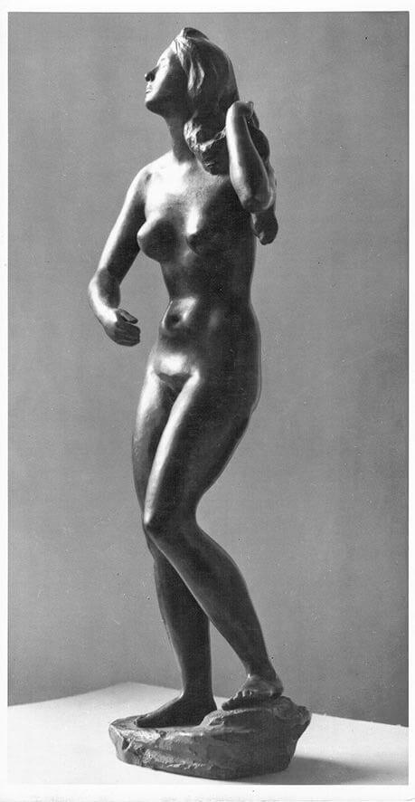 Haarflechterin II • Bronze • 55cm • 1943